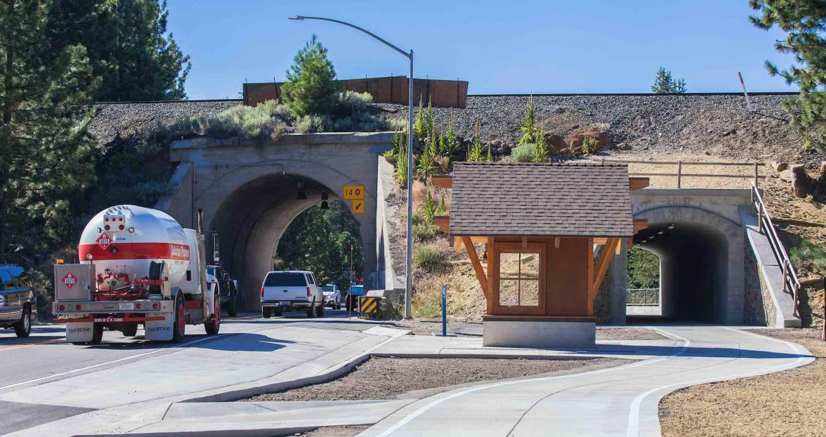 Truckee's Mini Mousehole Improves Pedestrian and Bicycle
