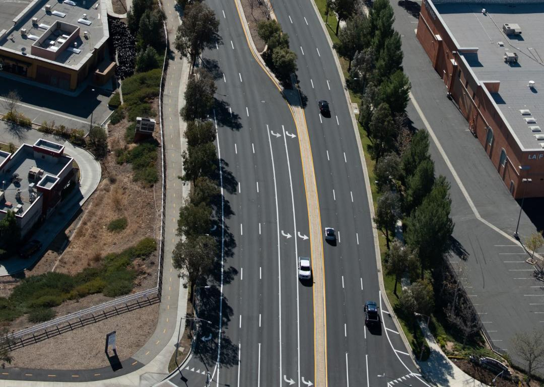 Santa Clarita used a critical point management approach, focusing on the rehabilitation and maintenance of streets above rather than below a critical point pavement condition index (PCI).